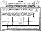 Winter Break Reading Calendar FREE!