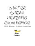 Winter Break Reading Challenge Reading Logs