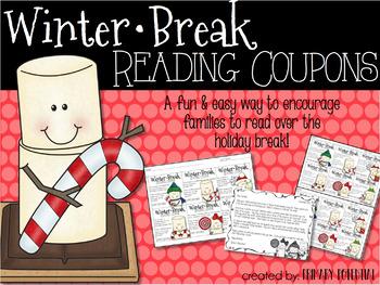 Winter Break Reading Coupons
