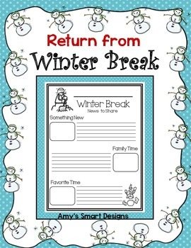Winter Break Return