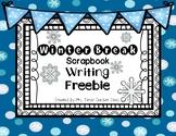 Winter Break Scrapbook Writing Freebie