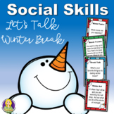 Winter Break Social Skills Task Cards