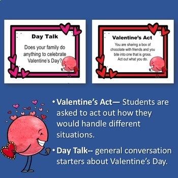 Valentine's Day Social Skills Task Cards