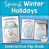 Spanish Winter Holidays: Interactive Flip Book