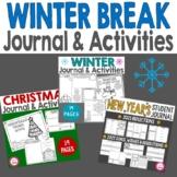 Winter Break Think Book Student Journal Bundle