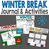 Winter Break Think Book Student Journal Bundle