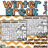 Winter Break Workout: Encouraging Physical Activity over Winter Break