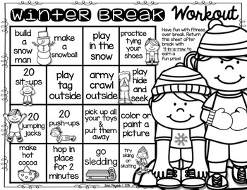 Winter Break Workout: Encouraging Physical Activity over Winter Break