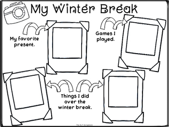 Winter Break Worksheet- Freebie
