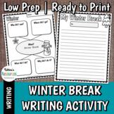 Winter Break Writing Activities