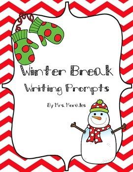 Winter Break Writing Prompts