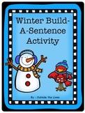 Winter Build A Sentence Activity