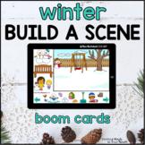 Winter Build a Scene  |   Boom Cards™