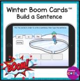 Winter Build a Sentence Digital BOOM Cards
