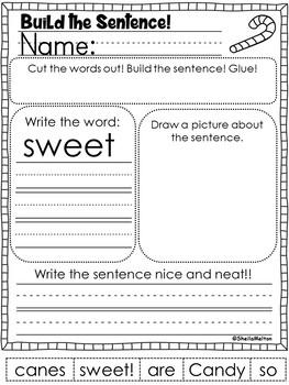 Winter Build the Sentence BUNDLE