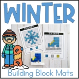 Winter Building Block Mats- STEM Building