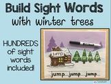 Winter Building Sight Words