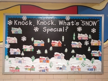 Winter Bulletin Board By Room To Bloom Teachers Pay