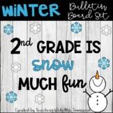 Snow Much Fun Bulletin Board Set-Convert to SVG