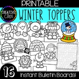 Winter Bulletin Board Toppers {Made by Creative Clips}
