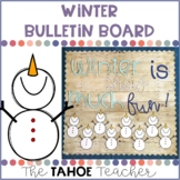 Winter Bulletin Board | With Writing Prompt