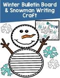 Winter Bulletin Board and Writing Display