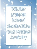 Winter Bulletin Board idea - Warm up with a good book