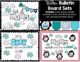 Winter Bulletin Board or Door Display Sets
