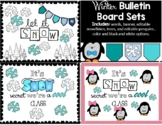 Winter Bulletin Board or Door Display Sets