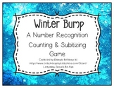 Winter Bump:  A Number Recognition, Counting, Adding, & Subitizing Game
