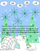 Winter Bump Game Bundle: Addition, Subtraction, and Multiplication
