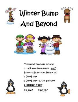 Winter Bump and Beyond Math Games