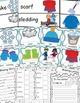 Winter Activities Math and Literacy Bundle, Winter Words, January Activities