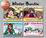 Winter Bundle - Animated Step-by-Steps - PCS