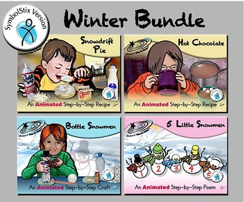 Winter Bundle - Animated Step-by-Steps® - SymbolStix