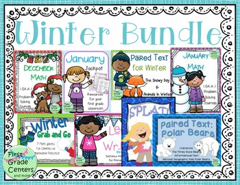 First Grade Winter Bundle