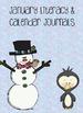 Winter Bundle: Literacy and Calendar Journals