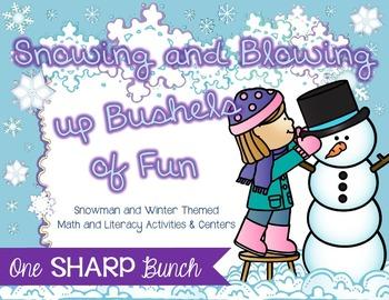 Winter Bundle {Math, Literacy & MORE}