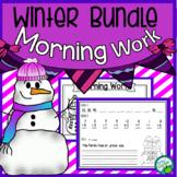 Winter Bundle Morning Work Quick Warm Ups