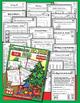 Winter Bundle - NO PREP Math & Literacy (First) - Dec/Jan/Feb