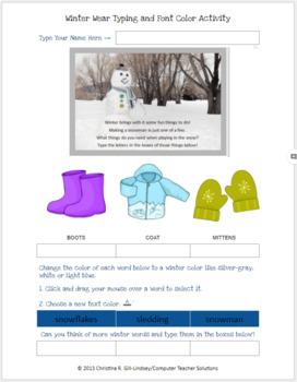 Winter Bundle Pack for Grades K-3!    GOOGLE DOCS & MS Word Activities