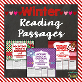 Winter Bundle:  Reading Passages with Comprehension Questions
