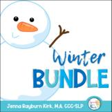 Winter Bundle: Speech Therapy Materials