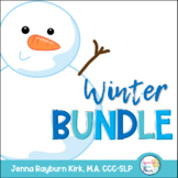 Winter Bundle: Speech Therapy Materials