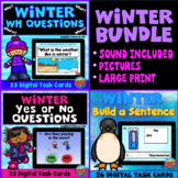 Winter Bundle: WH Questions, Yes or No Questions, Sentence