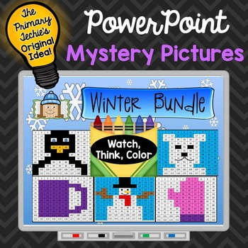 Winter Bundle Watch, Think, Color Games - EXPANDING BUNDLE