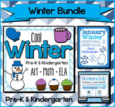 Winter Bundle for Pre-K and Kindergarten