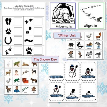 Winter Bundle for Special Education