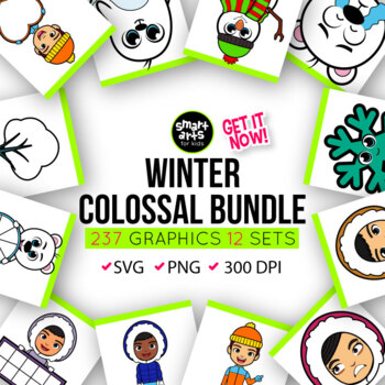 Winter Clipart Bundle