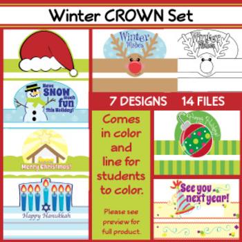 Winter CROWNS < 7 Designs >